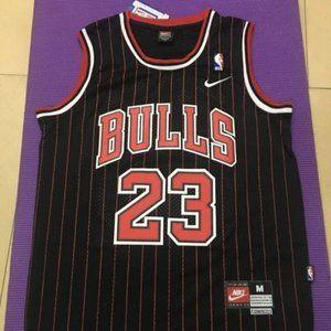 Bulls Michael Jordan #23 Black NBA Jersey